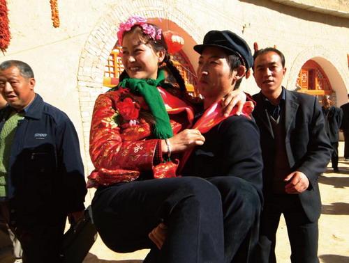 陕北:朴素而又讲究的乡村婚礼